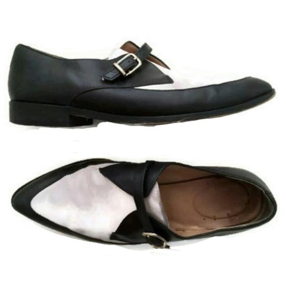cbe30c821b0 J. Crew Shoes - J. Crew Two Tone Loafers Womens 6 Black Steampunk